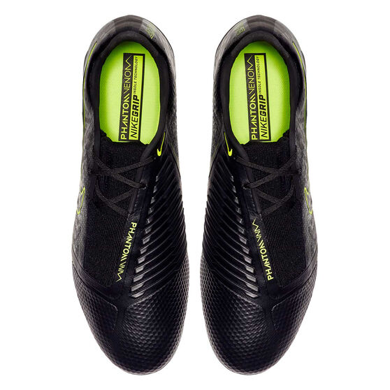 Nike Phantom Venom Elite Football Boots, Black / Yellow, rebel_hi-res