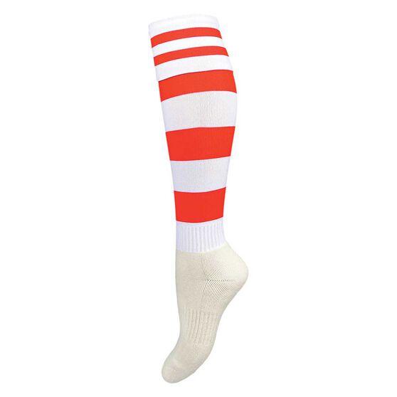 Burley Old Dragons Kids Football Socks, , rebel_hi-res