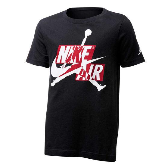 Nike Boys Jordan Jumpman Classic Tee, Black, rebel_hi-res