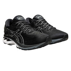 Asics GEL Kayano 27 Womens Running Shoes, Black/Silver, rebel_hi-res