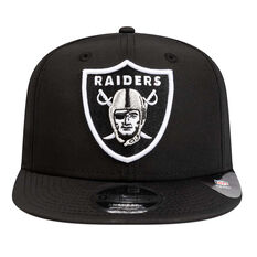 Oakland Raiders New Era 9FIFTY Prolight Cap Black S/M, Black, rebel_hi-res