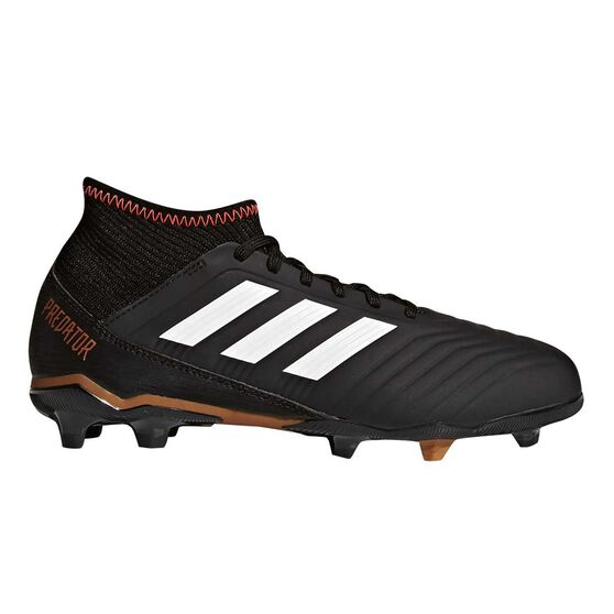 adidas Predator 18.3 Junior Football Boots Black   White US 11 Junior ab4a810a3