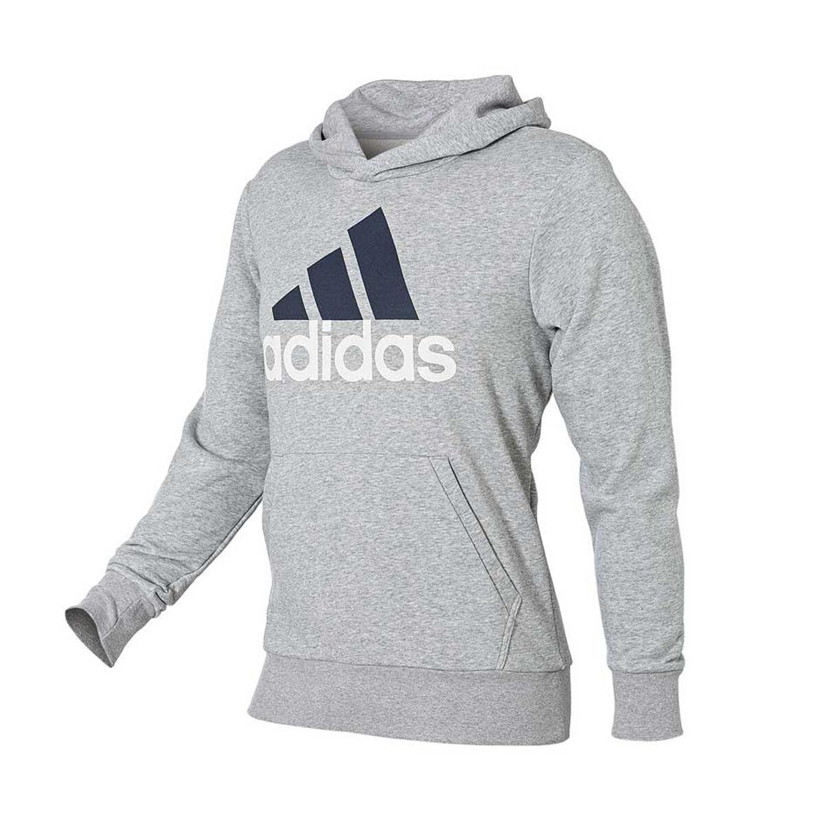 Adidas Uomo Essenziale Pullover Sport Cappuccio Grigio Xl Rebel Sport Pullover Lineare ea7ae5
