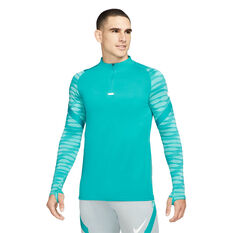 Nike Mens Dri-FIT Strike Soccer Drill Top Blue XS, Blue, rebel_hi-res