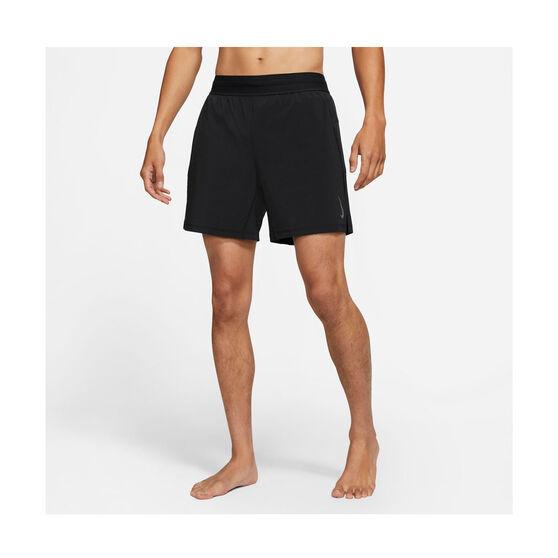 Nike Mens 2-in-1 Yoga Shorts, Black, rebel_hi-res