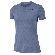 Nike Womens Dri-FIT Legend Training Tee Blue XS, Blue, rebel_hi-res