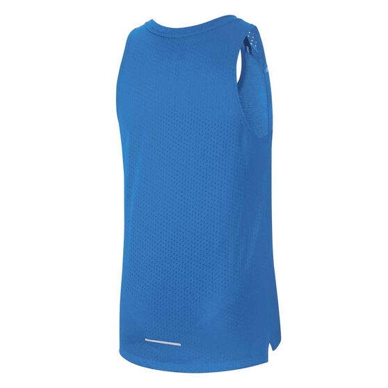 Nike Mens Breathe Rise 365 Running Tank, Blue, rebel_hi-res