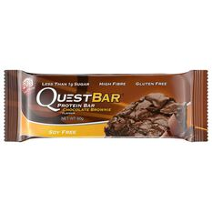 Quest Protein Bar 60G Chocolate Brownie Chocolate Brownie, , rebel_hi-res