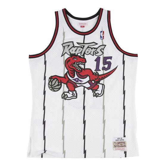 Toronto Raptors Vince Carter 98/99 Mens Home Swingman Jersey Purple XXL, , rebel_hi-res