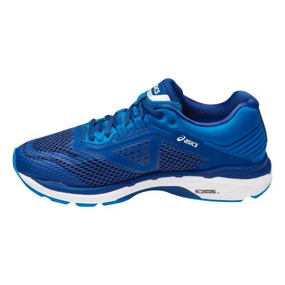 Asics GT 2000 6 2E Mens Running Shoes, Blue, rebel_hi-res
