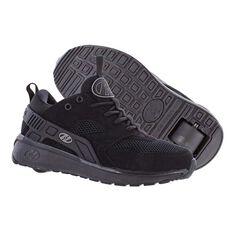 Heelys Force Boys Shoes Black US 1, Black, rebel_hi-res