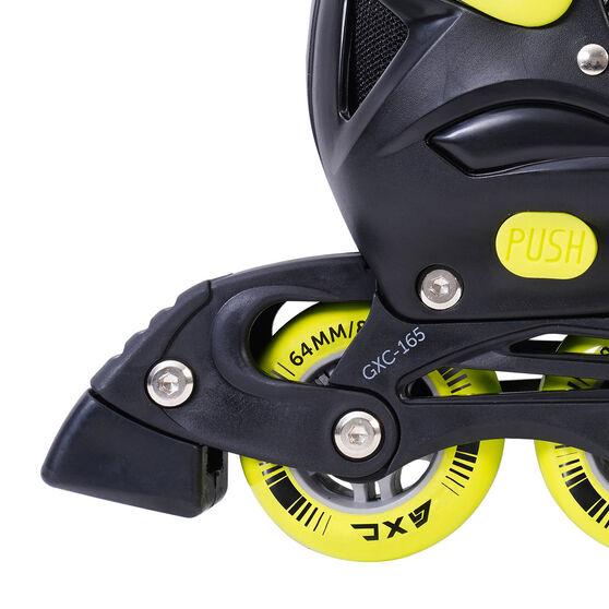 Goldcross GXC165 2 in 1 Inline Skates, Yellow, rebel_hi-res