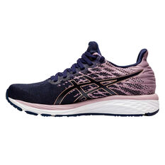 Asics GEL Cumulus 21 Knit Womens Running Shoes Blue/Gold US 6, Blue/Gold, rebel_hi-res