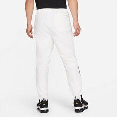 Nike Mens Sportswear Woven Statement Pants White M, White, rebel_hi-res
