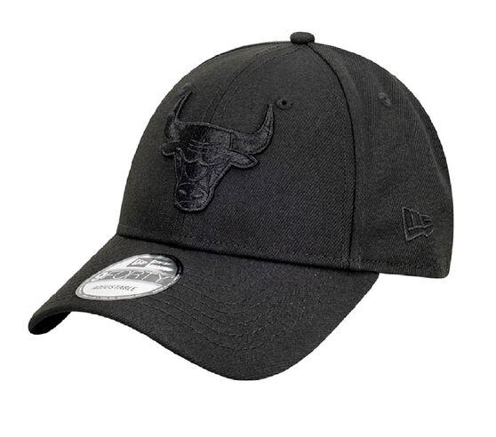 Chicago Bulls New Era Black on Black 9FORTY Snapback, , rebel_hi-res