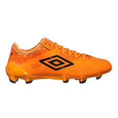 Umbro Velocita 3 Pro Mens Football Boots Orange / Black US 7 Adult, Orange / Black, rebel_hi-res