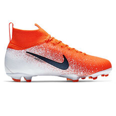 6fd6ea85b8e8 ... Nike Mercurial Superfly VI Elite Kids Football Boots Red   Black US 4