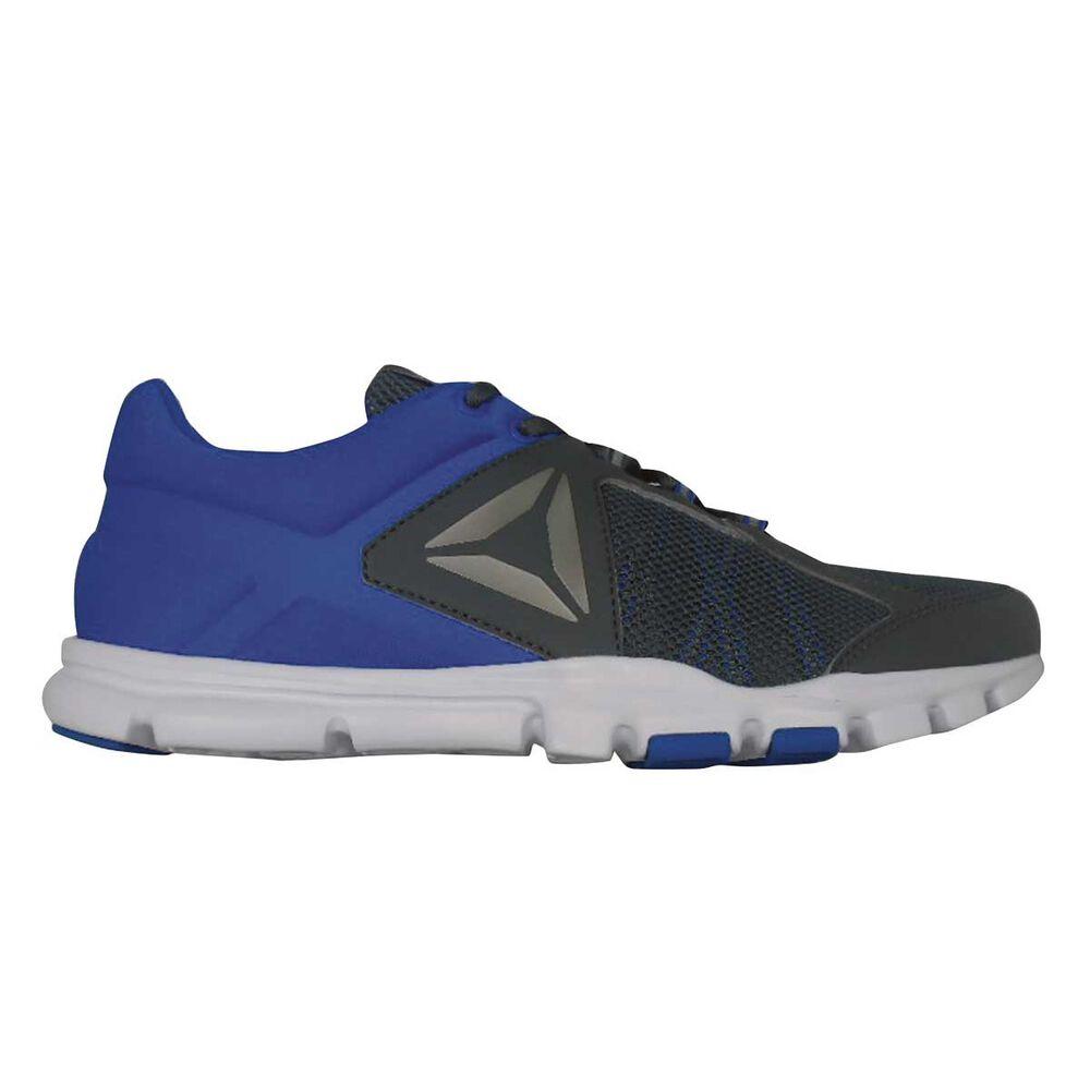 0da99b5b991b3d Reebok Yourflex Train 9 Mens Training Shoes Black   Blue US 9 ...