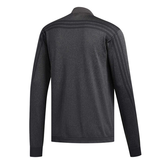 adidas Mens Primeknit 3-Stripes Training Jacket Black M, Black, rebel_hi-res