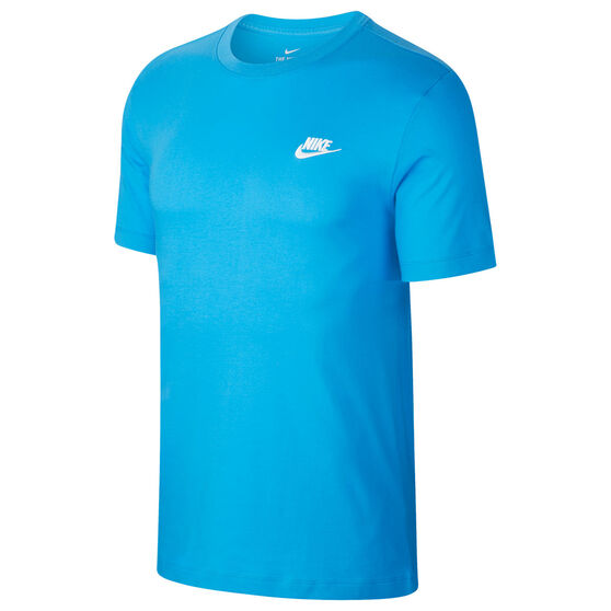 Nike Mens Sportswear Club Tee, Blue, rebel_hi-res