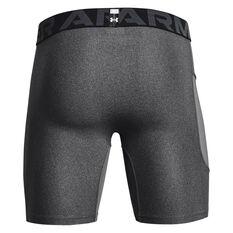Under Armour Mens Heatgear Armour Shorts Grey S, Grey, rebel_hi-res
