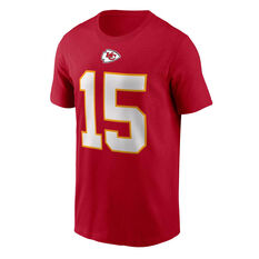 Kansas City Chiefs Patrick Mahomes 2020 Mens Essential Tee, Red, rebel_hi-res