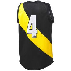 Richmond Tigers 2020/21 Kids Home Dustin Martin Guernsey Black 8, Black, rebel_hi-res