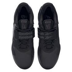 Reebok Legacy Lifter 2 Mens Training Shoes, Black/Grey, rebel_hi-res