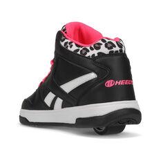 Reebok BB4500 Mid Heelys Black/Pink US 1, Black/Pink, rebel_hi-res