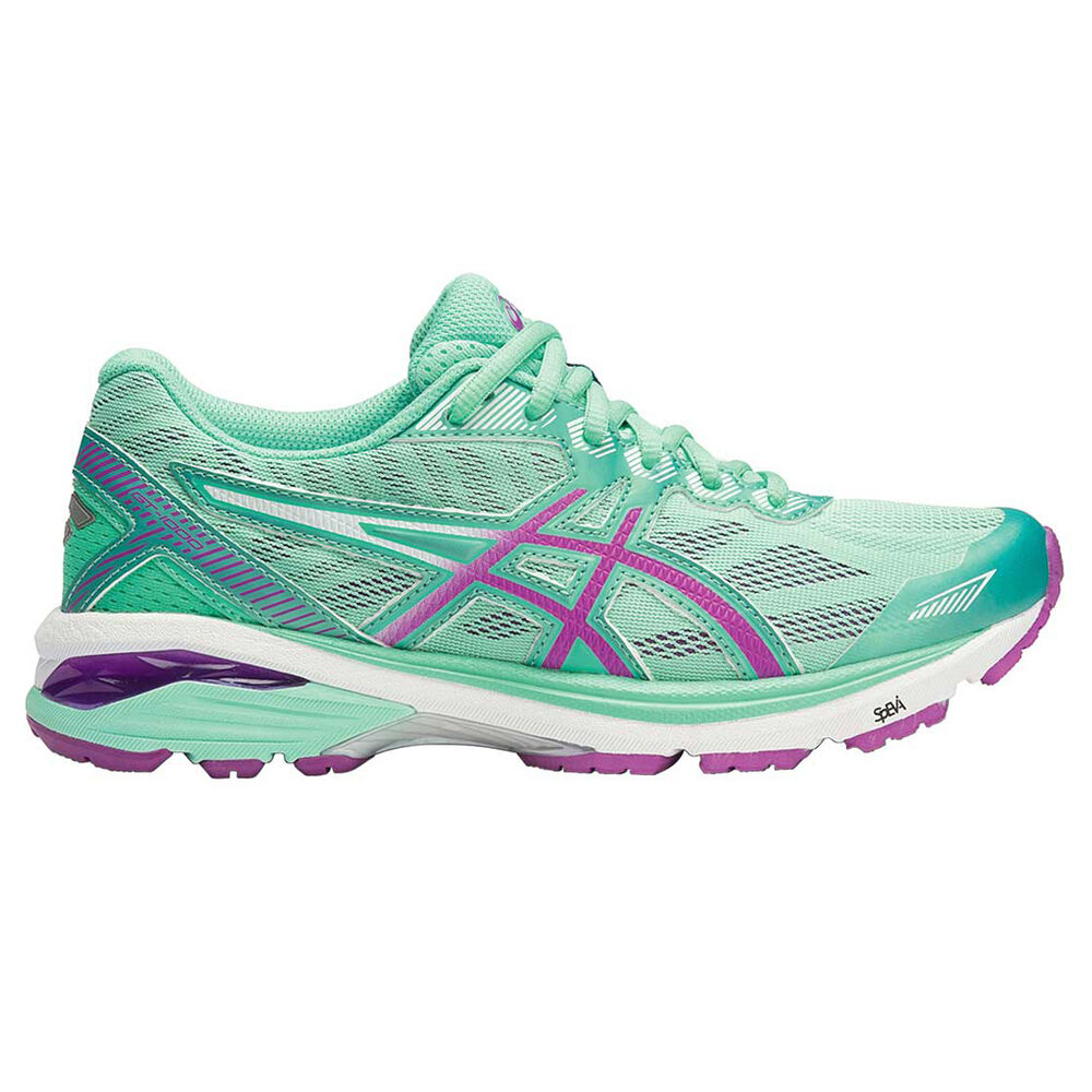 huge selection of b838b 69c8f Asics GT 1000 5 (D) Womens Running Shoes Green   Purple US 6,