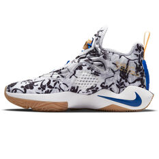 Nike LeBron Soldier XIV Mens Basketball Shoes Black/White US 7, Black/White, rebel_hi-res