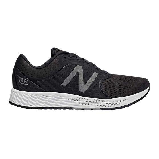New Balance Fresh Foam Zante V4 Womens Running Shoes, Black / Grey, rebel_hi-res