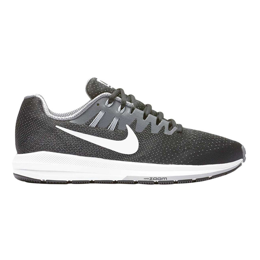 reputable site 5fcd1 8f18c Nike Air Zoom Structure 20 Mens Running Shoes Black   White US 10, Black