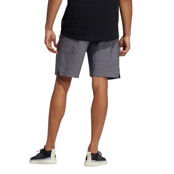 adidas Mens Axis Heathered Shorts, Grey, rebel_hi-res