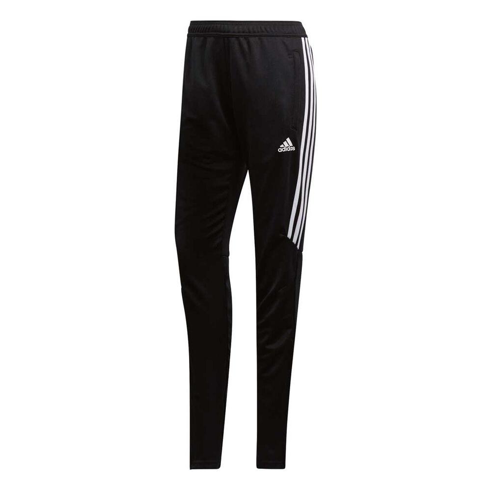 465870e69 adidas Womens Tiro 17 Training Pants Black / White XS, , rebel_hi-res