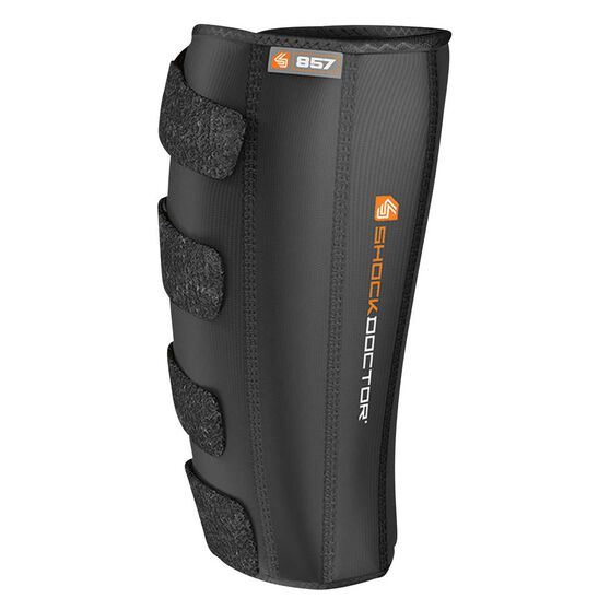 Shock Doctor 857 Calf and Shin Compression Wrap One Fits All Black, , rebel_hi-res