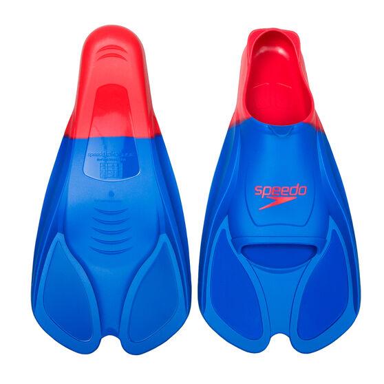 Speedo Biofuse Swim Training Fins, Blue, rebel_hi-res