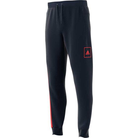 adidas Mens Regular Pants, Blue, rebel_hi-res