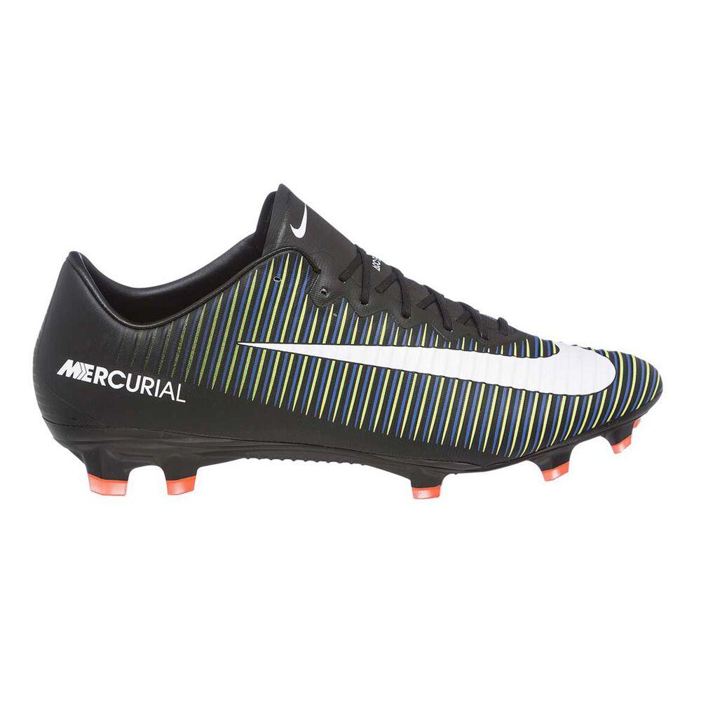 22e653513a65 Nike Mercurial Vapor XI Mens Football Boots Black   White US 11.5 Adult