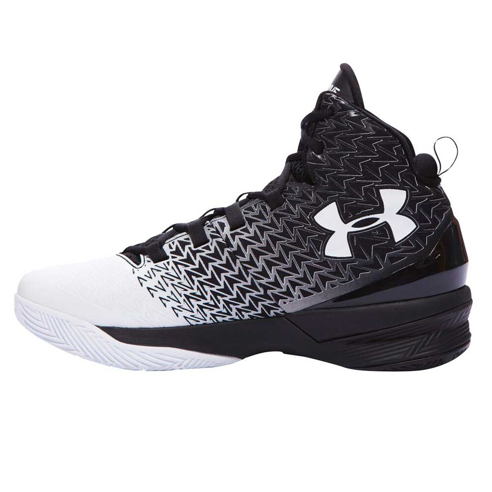 f014e6401ee9 Under Armour ClutchFit Drive 3 Mens Basketball Shoes Black   White US 14