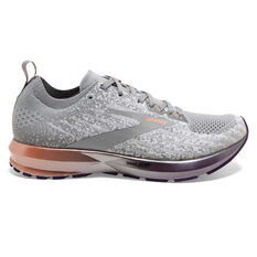Brooks Levitate 3 Womens Running Shoes White / Purple US 6, White / Purple, rebel_hi-res