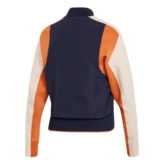 adidas Womens VRCT Jacket, Navy, rebel_hi-res