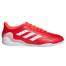 adidas Copa Sense .4 Indoor Soccer Shoes Red/White US Mens 7 / Womens 8, Red/White, rebel_hi-res