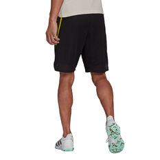 adidias Mens Primeblue Shorts Black M, Black, rebel_hi-res