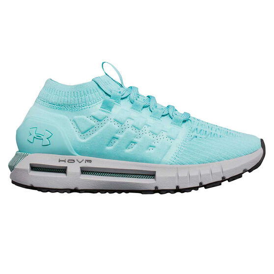 buy online 8f1e6 949cd Under Armour HOVR Phantom Womens Running Shoes Teal / Grey US 6.5