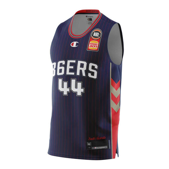Adelaide 36ers  Home Sunday Dech 20/21 Mens Home Jersey, Navy, rebel_hi-res