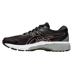 Asics GT 2000 8 D Womens Running Shoes Black / Rose Gold US 6, Black / Rose Gold, rebel_hi-res
