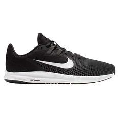 Nike Downshifter 9 Mens Running Shoes Black / White US 7, Black / White, rebel_hi-res