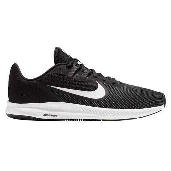 Nike Downshifter 9 Mens Running Shoes, Black / White, rebel_hi-res