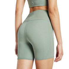 Nimble Womens Spin Around Shorts, Green, rebel_hi-res